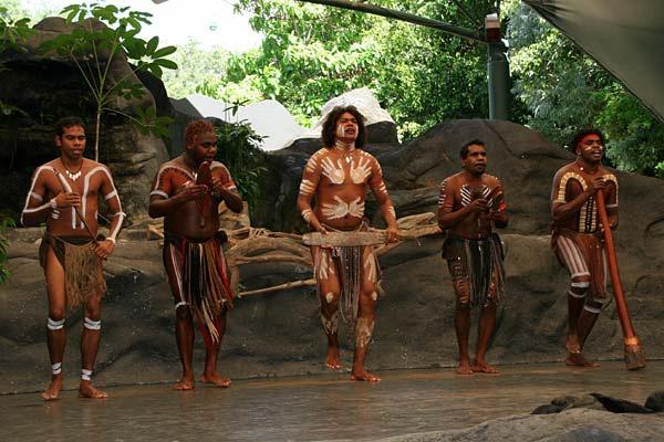 Аборигены в Куранде