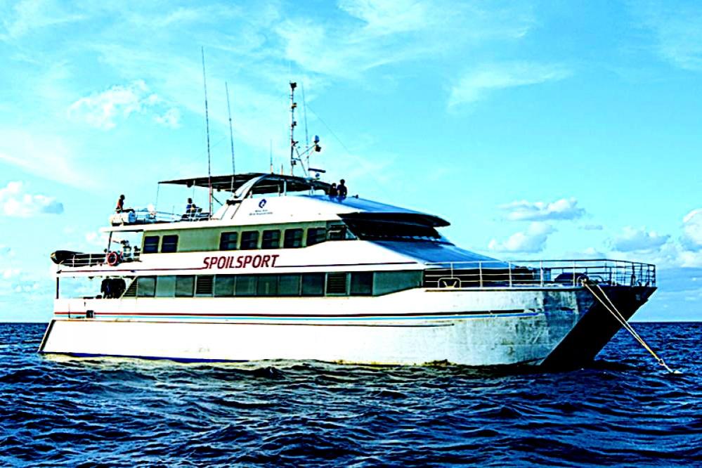 Яхта Mikeball Spoilsport